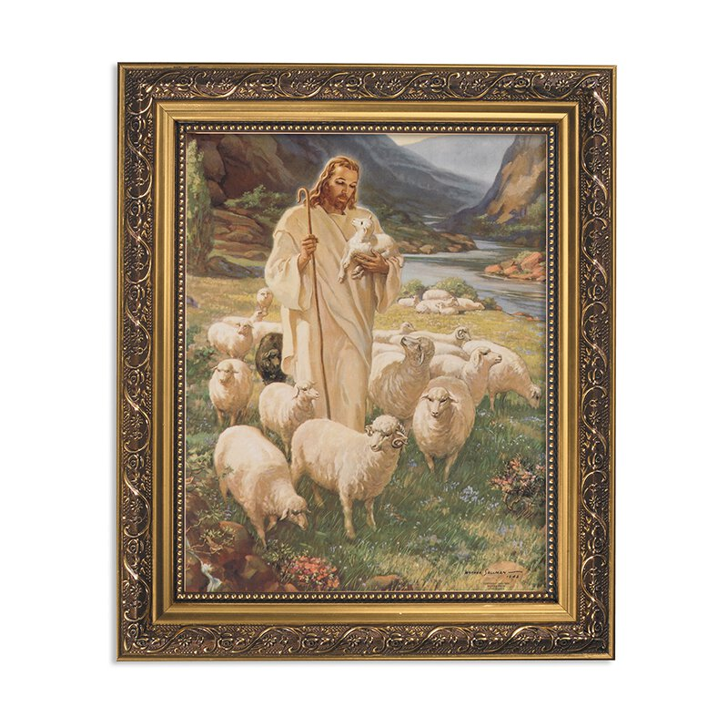 Sallman: Lord Is My Shepherd Framed Print
