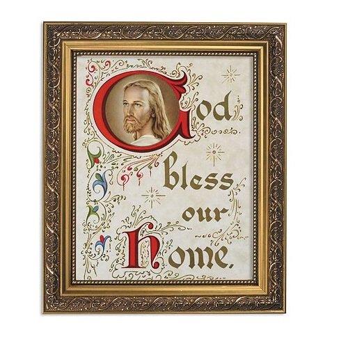 "FRM PRT 13"" God Bless Home"