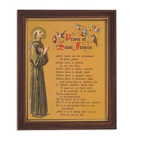 """FRM PRT 12.5"""" Saint Francis Pe"""