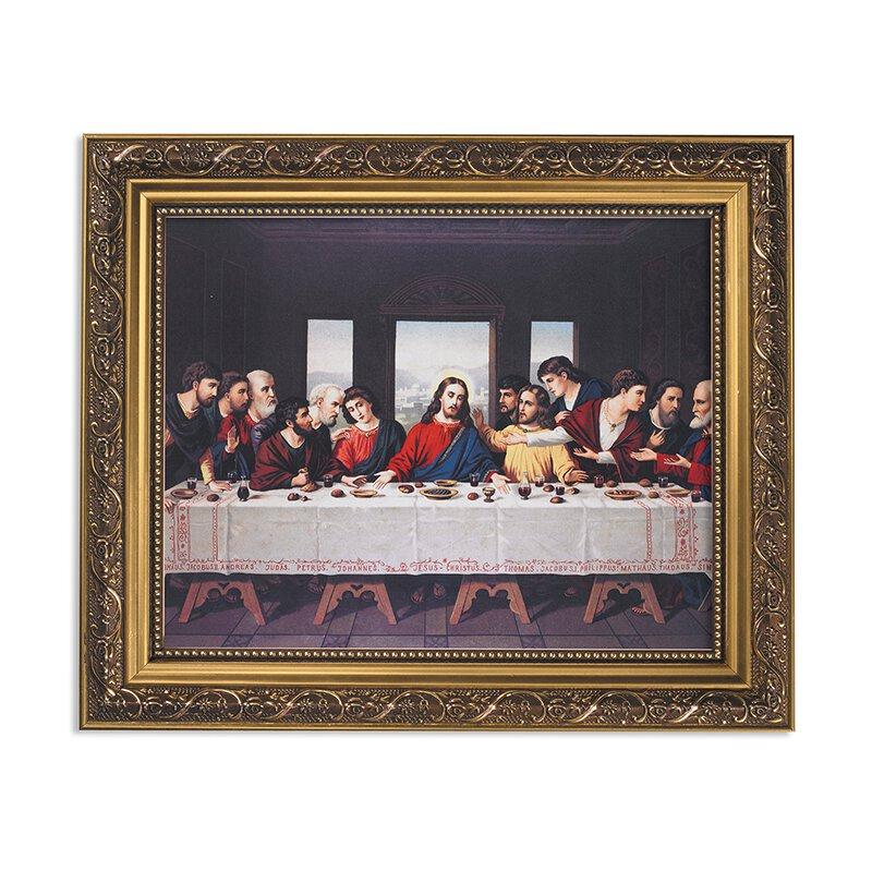 Abendmahl: The Last Supper Framed Print