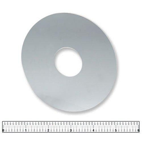 """5-1/2"""" Dia Standard Plexiglass Wax Protector"""