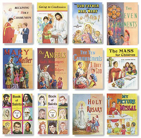 St. Joseph Picture Book Assortment (12 Asst) - 12/pk