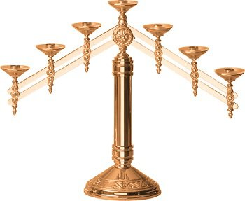 Candelabras with Adjustable Arms