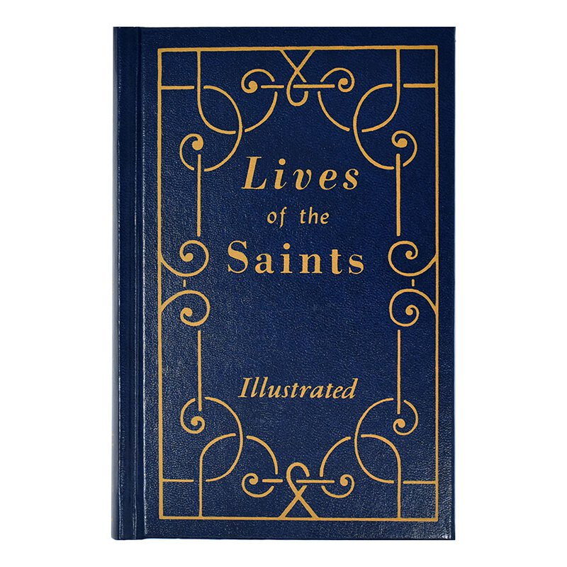 Lives of the Saints Vol I Large Print Edition