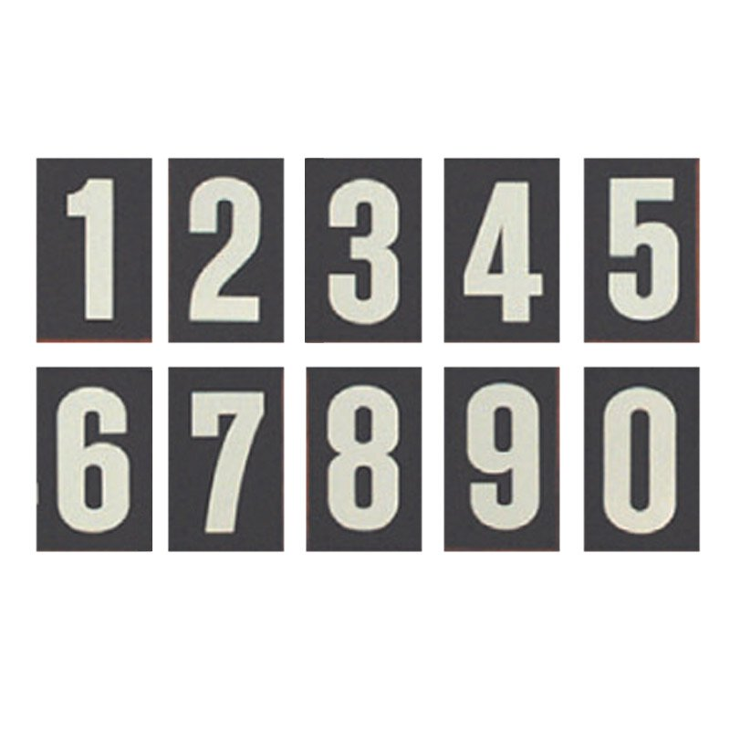 Set of Hymn Board Numbers (0-9)