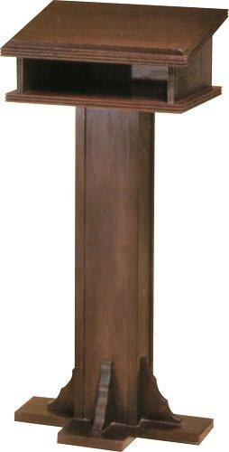 Lectern W/Shelf