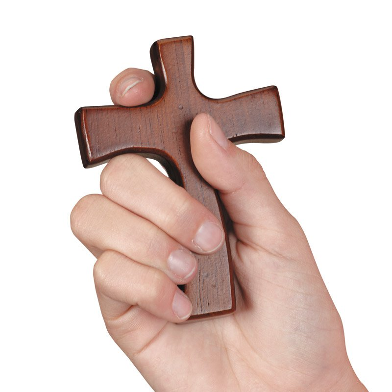 Lenten Hand Cross - 4/pk