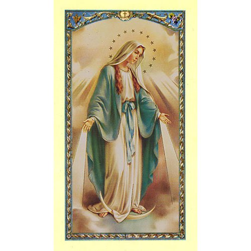 Our Lady of Grace Holy Card