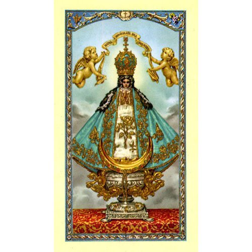 Prayer to Our Lady of San Juan Holy Card