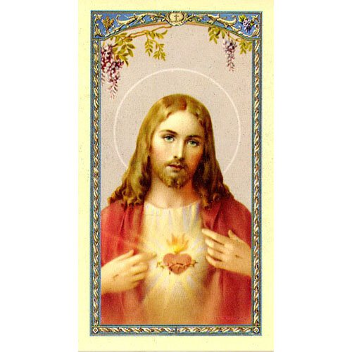 Prayer for Daily Neglects Holy Card