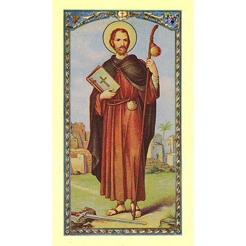 Prayer to Saint James the Apostle Holy Card