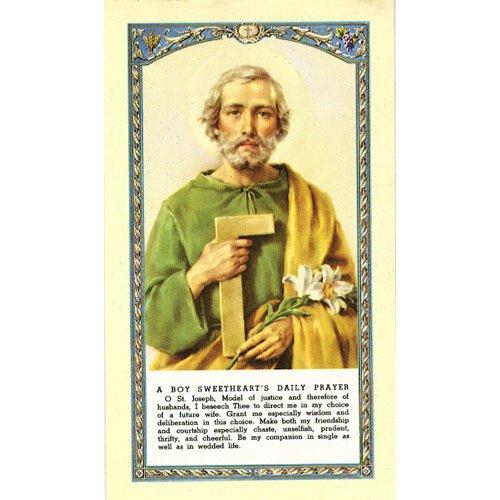 Saint Joseph the Worker Holy Card