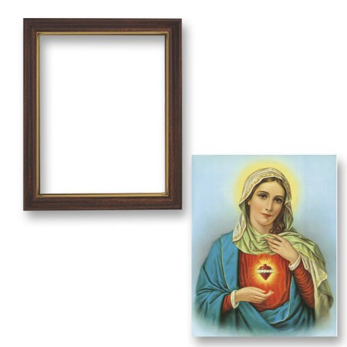 Framed Immaculate Heart of Mary