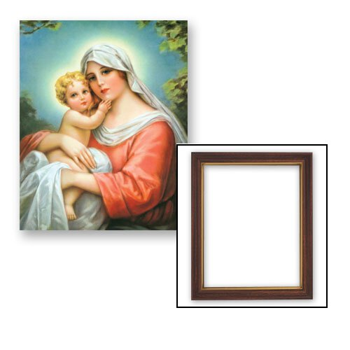 "10x12.5"" Madonna and Child Frame"