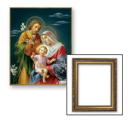 Framed Print -  Holy Family
