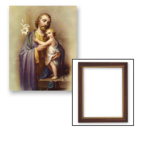 "10x12.5"" Saint Joseph Frame"