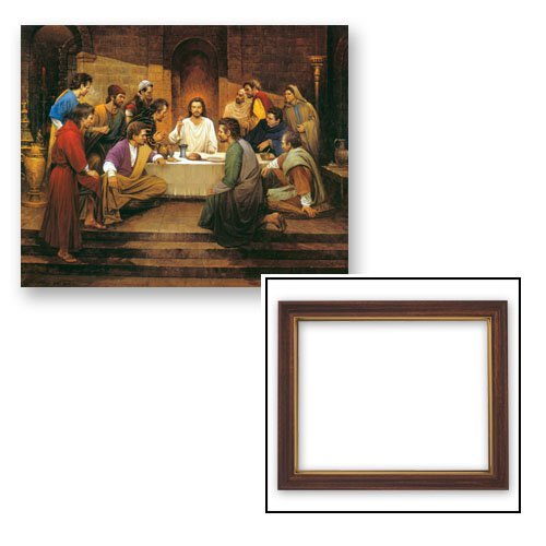 """Framed Print 10 x 12.5"""" The Lord's Supper"""
