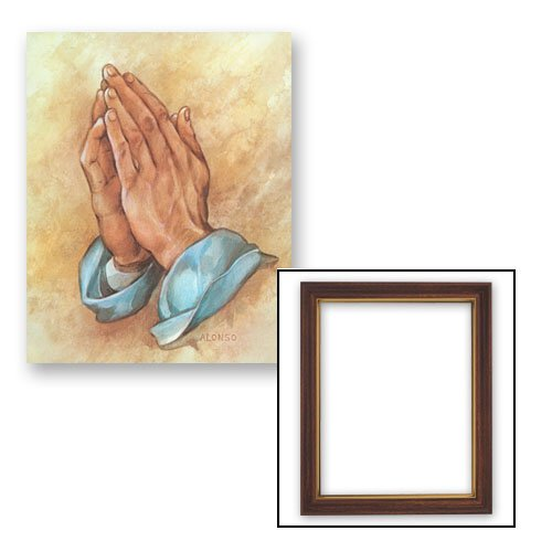 10x12.5 Alonso: Praying Hands Frame