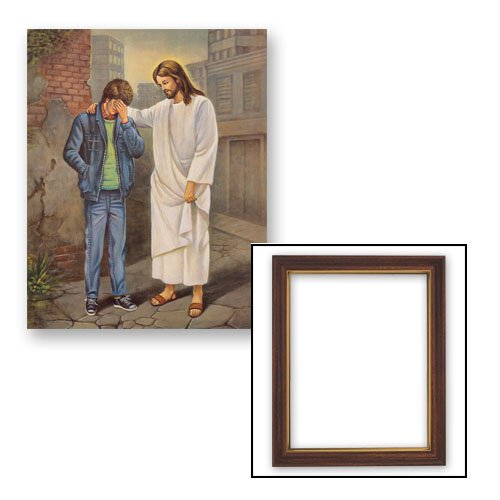 10x12.5 The Pardoning - Boy Frame