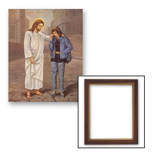 10x12.5 The Pardoning - Girl Frame