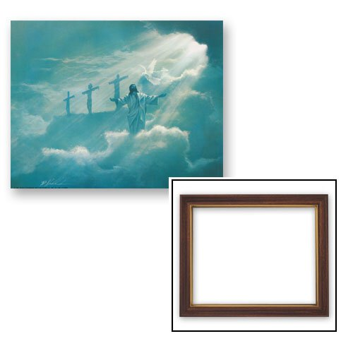Christ in the Clouds Frame
