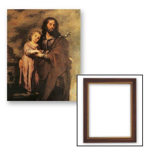 10x12.5 Murillo: Saint Joseph Frame