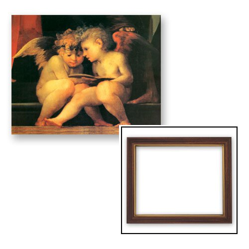 10x12.5 Fiorentino: Angels Reading Frame