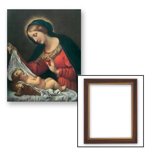 10x12.5 Dolci: Madonna of the Veil Frame