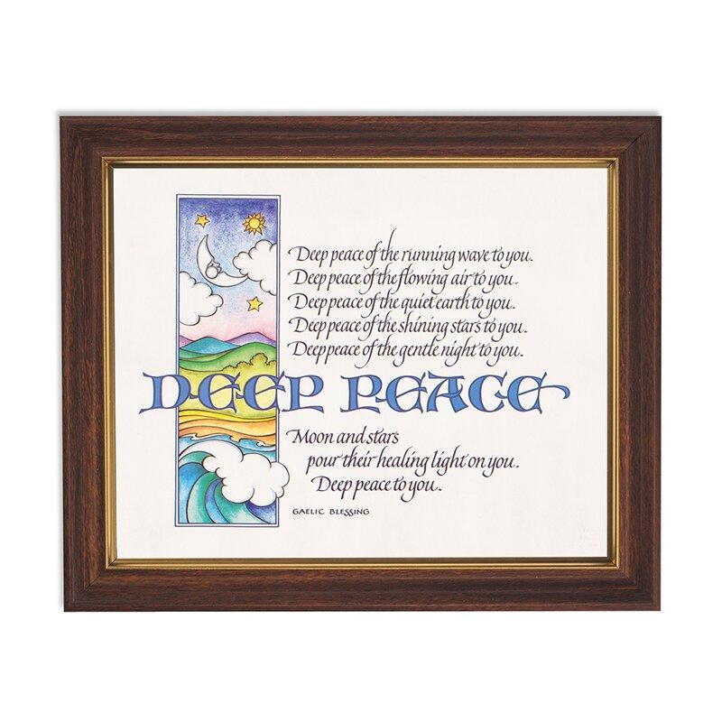 """10x12.5"""" Deep Peace Frame"""