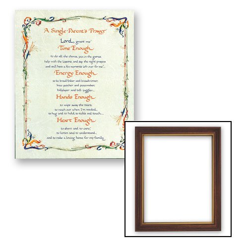 "10x12.5"" A Single Parent's Prayer Frame"