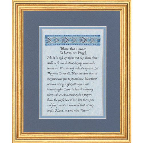 "10 x 12"" Bless This House Frame"