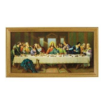 Last Supper Framed Print