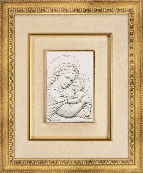 """15"""" Frame - Madonna of the Chair"""