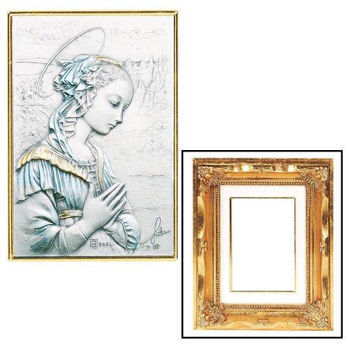 Lippi's Madonna Gold Leaf Frame