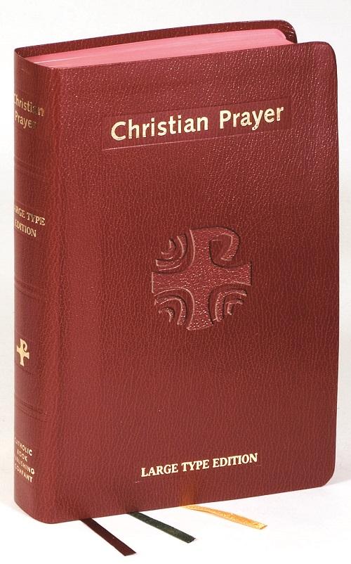 Christian Prayer Large Type