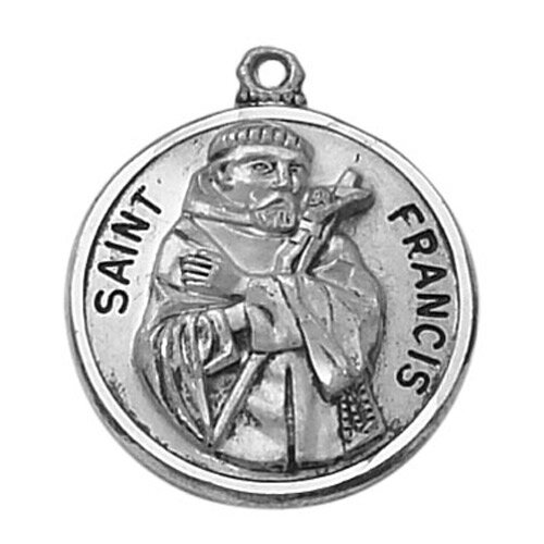 Creed® Heritage Collection St. Francis Medal
