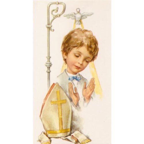 Confirmation Boy Holy Card 100 pk
