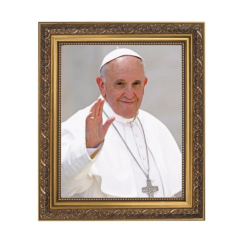 Pope Francis Framed Art