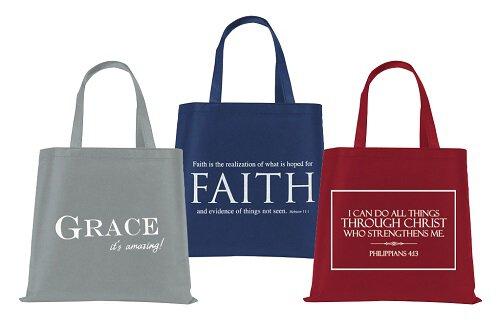Best Selling Tote Bag Assortment (3 Asst) - 12/pk