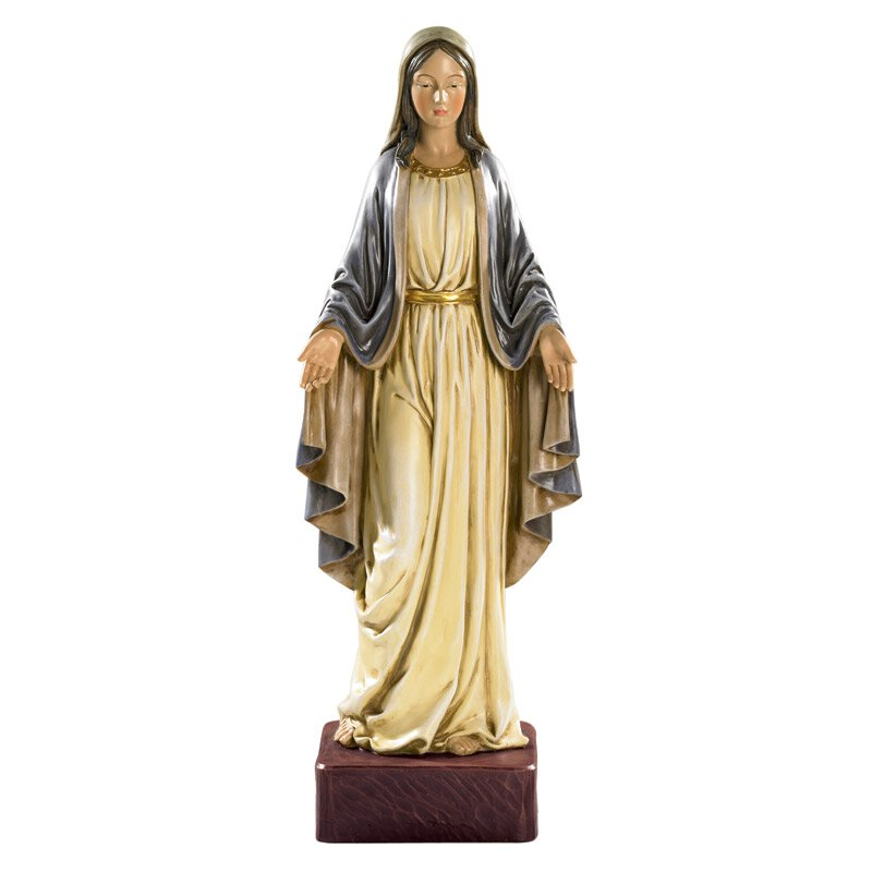 "21-1/2"" Val Gardena Statue - Our Lady of Grace"