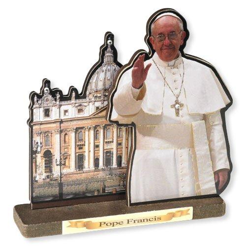 Pope Francis Prayer Shrine - 6/pk