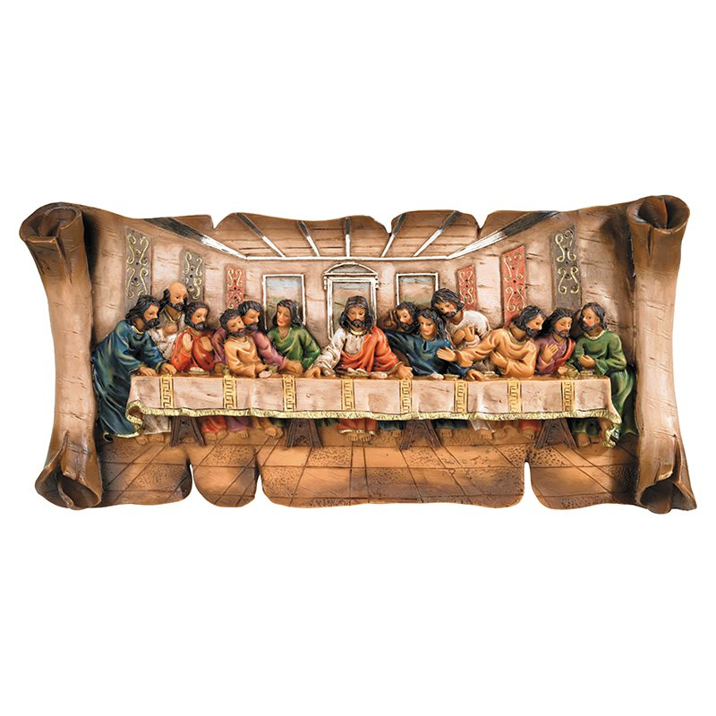 Catholic gifts easter gifts lent gifts religious items autom last supper plaque negle Choice Image