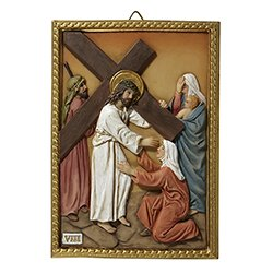 Stations of the Cross Plaques - Set of 15