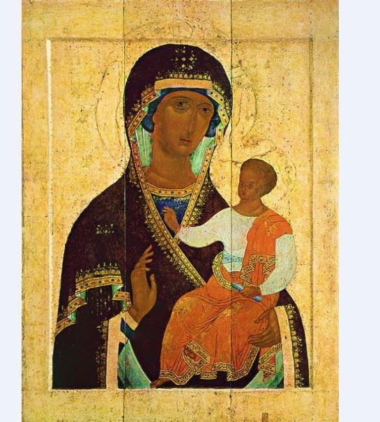 Theotokos Of Yaroslav - Print