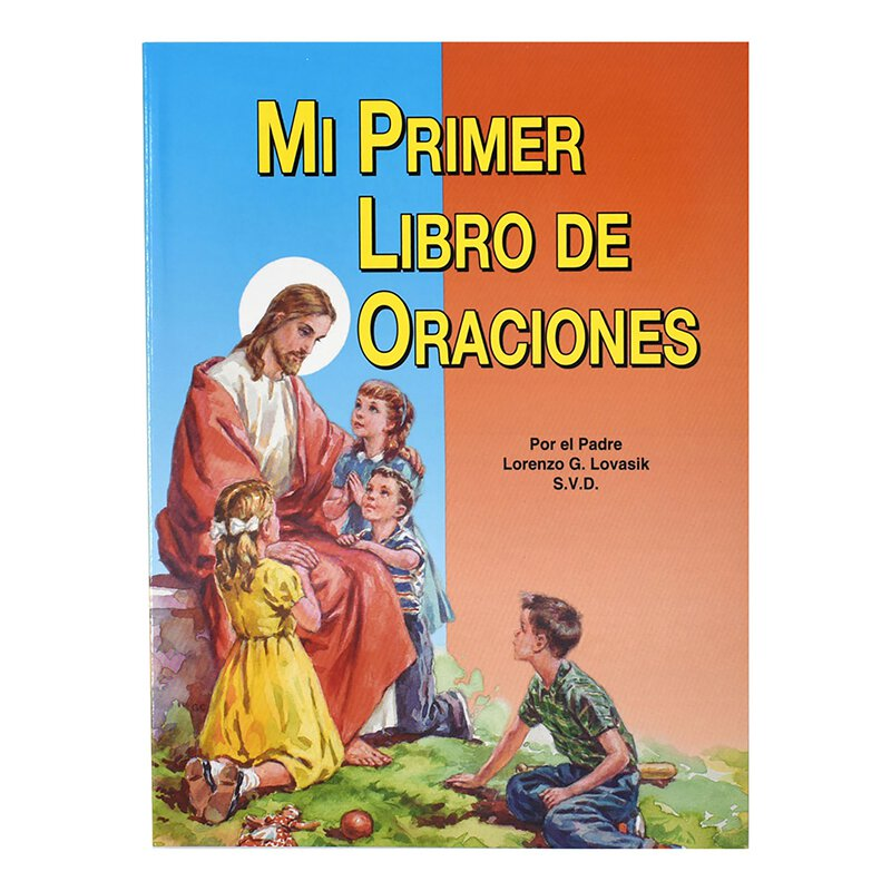St. Joseph Picture Book - Mi Primer Libro de Oraciones (My First Prayer Book) - 10/pk