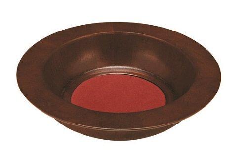 Walnut Stain Offering Plate