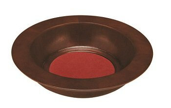 Walnut Stain Offering Plate  sc 1 st  Autom & Church Supplies Offering Bags Plates Baskets Cans| Autom