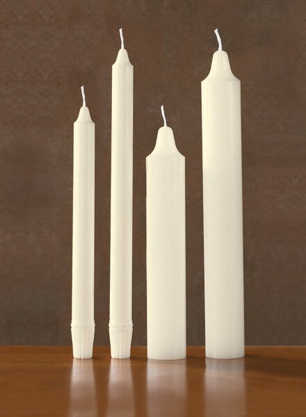 7/8'' x 8'' SFE Beeswax Candles
