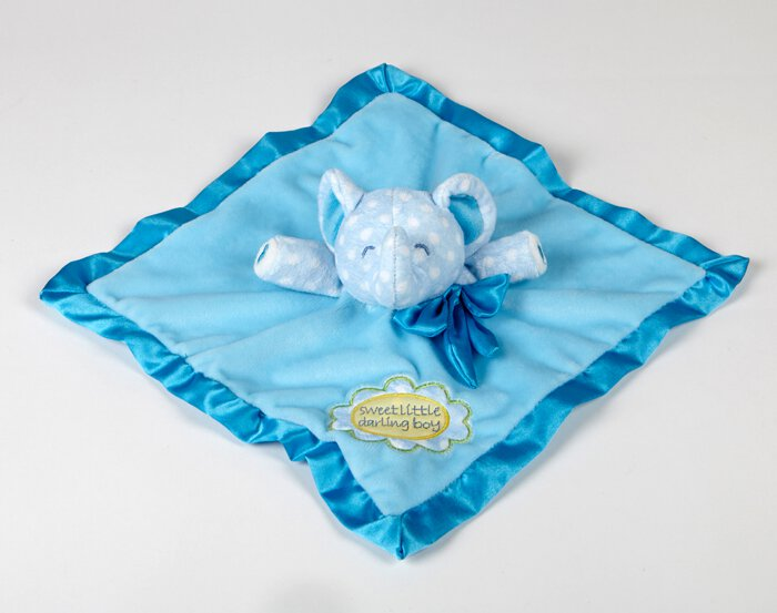 Sweet Little Darling- Baby Boy Plush Blanket