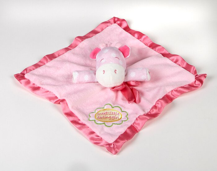 Sweet Little Darling- Baby Girl Plush Blanket